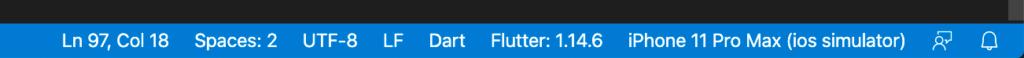 Visual Studio Code - Target Device. Select in bottom bar (right corner)